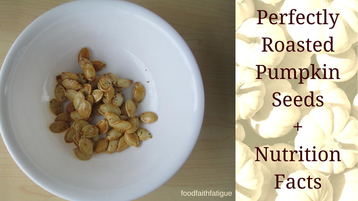 roasted pumpkin seed nutrition